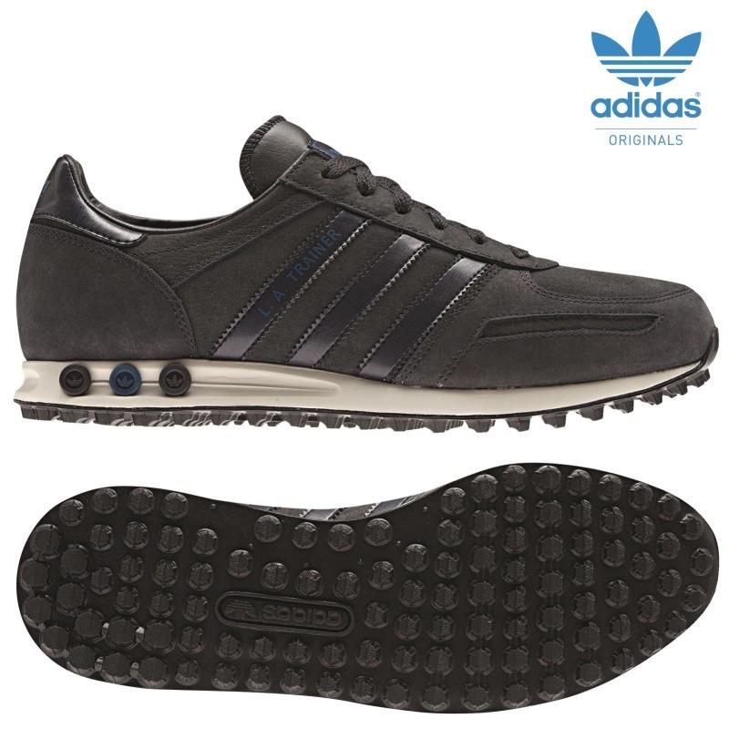adidas originals la trainer herren sneaker schwarz grau. Black Bedroom Furniture Sets. Home Design Ideas